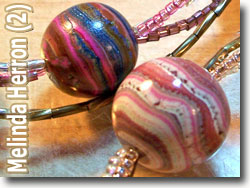 Polymer Clay Beads by Melinda Herron