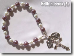 Polymer Clay Chaplet Beads by Mollie Hubenack