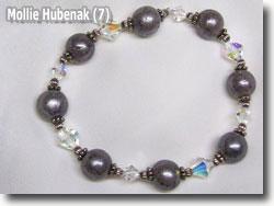 Polymer Clay Keepsake Bracelet by Mollie Hubenack