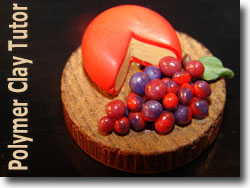 Polymer Clay Cheese Platter