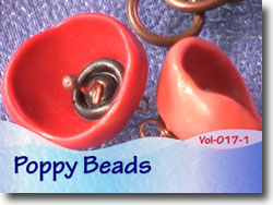 Poppy Beads