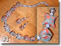 Polymer Clay Jewelry by Kris Johnson