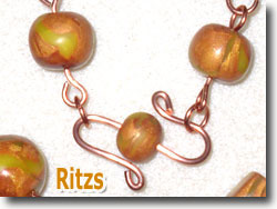 Copper Wire Jewelry Findings by Ritzs