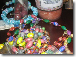 Surrounded By Beads