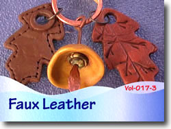 Polymer Clay Faux Leather