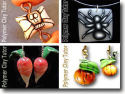 Polymer Clay Halloween Jewelry