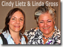 Cindy Lietz and Linda Gross