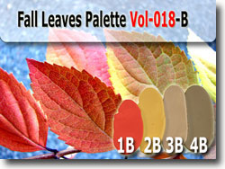 Fall Leaves Polymer Clay Color Palette
