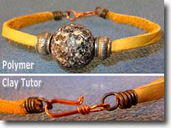 Men's Polymer Clay Bracelet