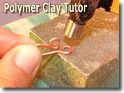 Hammering Copper Wire