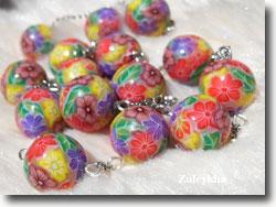 Polymer Clay Millefiori Beads by Suleykha McMillan