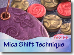 Polymer Clay Mica Shift Technique