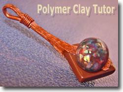 Faux Opal Pendant