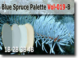 Blue Spruce Polymer Clay Color Palette