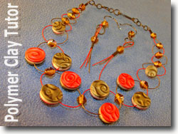 Trios Wire and Mica Shift Beads