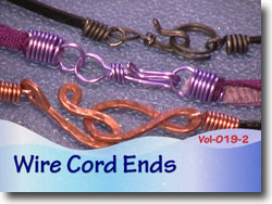 Wire Cord Ends for Jewelry Making
