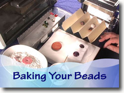 Baking Polymer Clay Beads