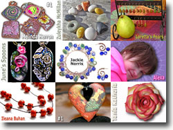 Polymer Clay Spotlight Features
