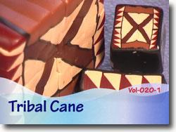 Polymer Clay Tribal Cane Tutorial