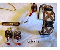 Tribal Cane Jewelry by Nancy Reddick