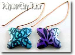 Inked Butterfly Earrings