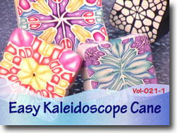 Easy Kaleidoscope Canes