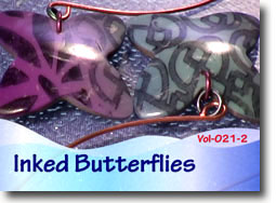 Inked Butterfly Surface Technique