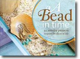 A Bead In Time Book Cover, Lisa Crone