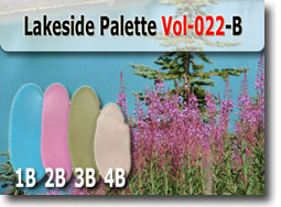 Lakeside Polymer Clay Color Palette