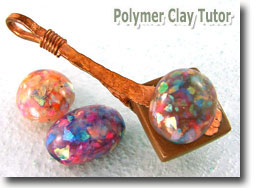 Polymer Clay Faux Opals