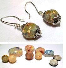 Faux Opals by Brenda Moran