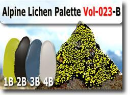 Alpine Lichen Polymer Clay Color Palette