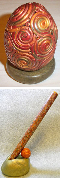 Polymer Clay Projects by Carolyn Fiene