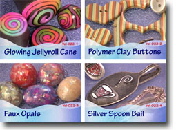 Polymer Clay Video Tutorials Volume 22