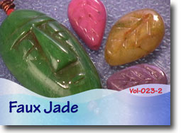 Faux Jade Polymer Clay