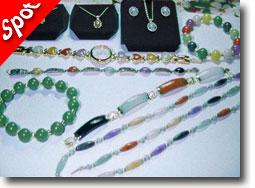 Polymer Clay Faux Jade Jewelry by Ken Hamilton