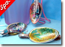 Polymer Clay Vintage Silverware Jewelry