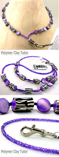 Beaded Lanyard by Cindy Lietz