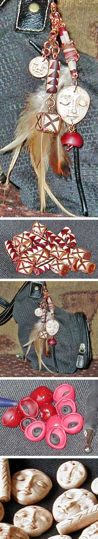 Polymer Clay Purse Charm Project by Lisa Whitham