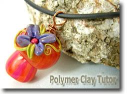 Polymer Clay Mushroom Jewelry by Cindy Lietz