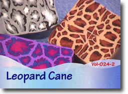 Polymer Clay Leopard Canes