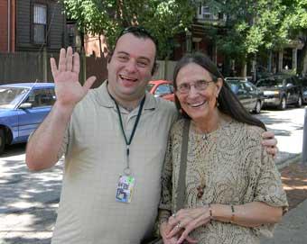 Carolyn Fiene and Ken Hamilton in Philadelphia