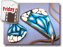 Polymer Clay Butterfly Wing Cane Tutorial