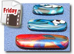 Polymer Clay Rocker Beads Tutorial