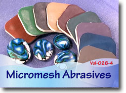 Micromesh Cushioned Abrasives for Sanding Polymer Clay