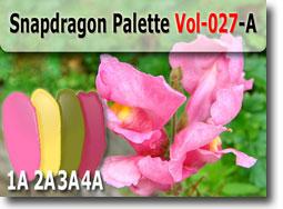 Snapdragon Flower Polymer Clay Color Palette