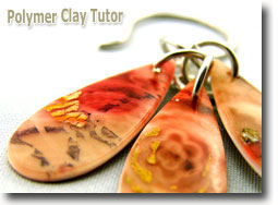 Polymer Clay Mixed Media Earrings