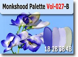 Monkshood Polymer Clay Color Palette