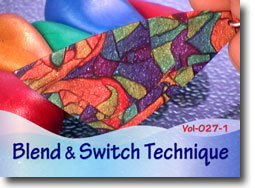 Blend and Switch Polymer Clay Technique
