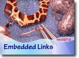 Embedded Wire Loops in Polymer Clay Beads